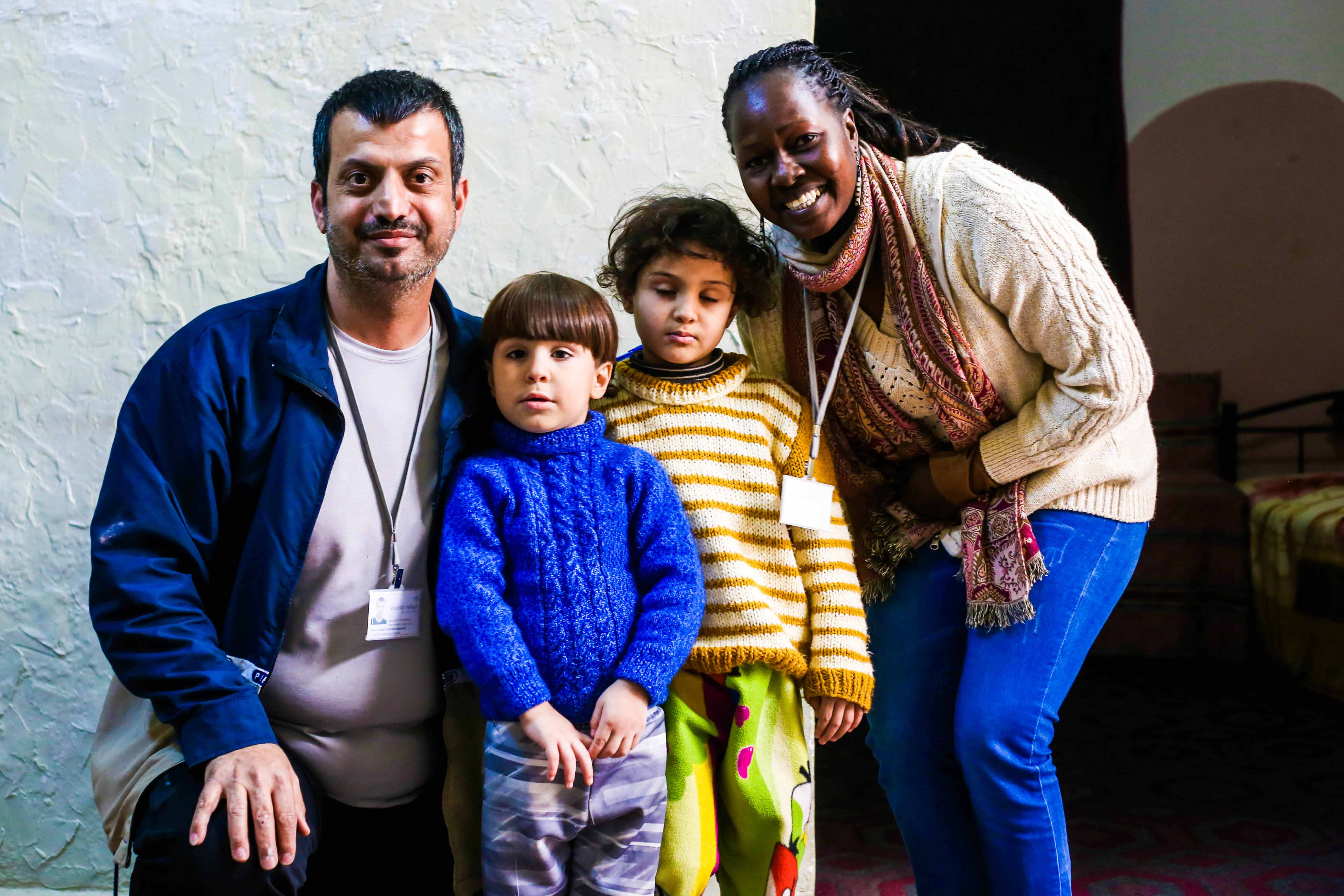 Supporting refugee families in Jordan, focussing especially on helping children