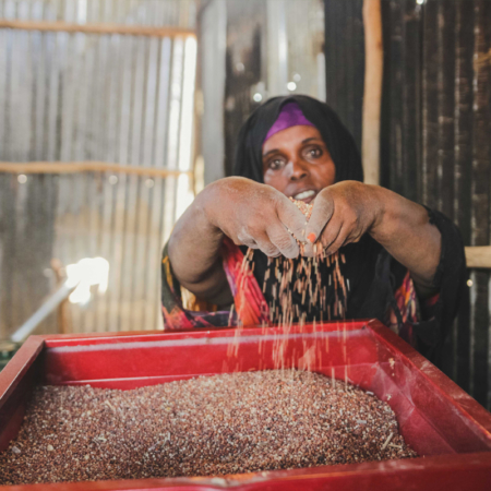 Women in East Africa can feed their families through grinding mills