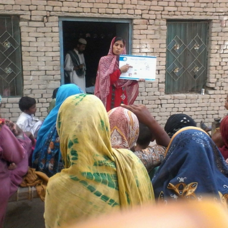 Harmony Teaching women in Pakistan
