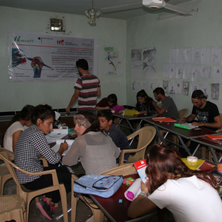 Youth Iraq - Art Project Active