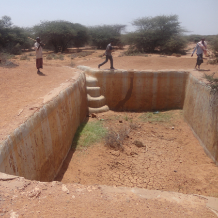 Tearfund Germany is building wells to help humans fight the drought in East Africa