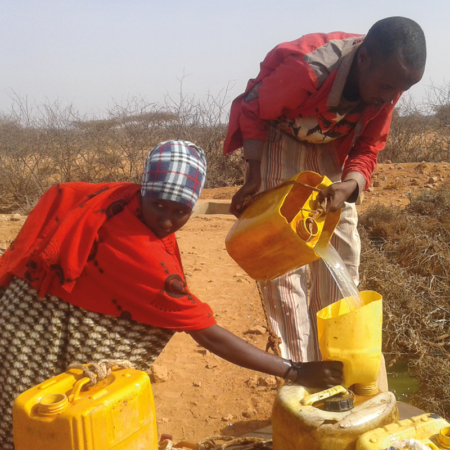 Tearfund Germany supports local people against the East Africa drought