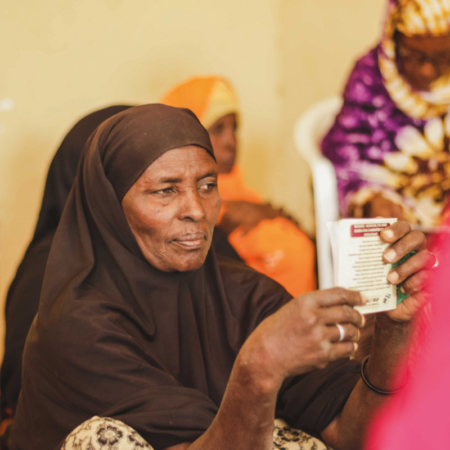 The women in East Africa learn sustainably to provide for their family