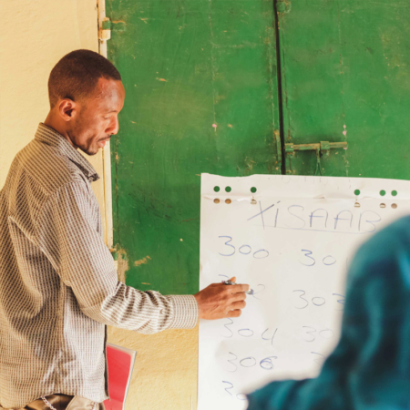 Targeted training enables women to continue their education in East Africa