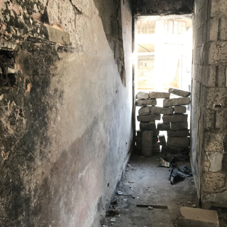 Help in Syria – Missing doors in Homs