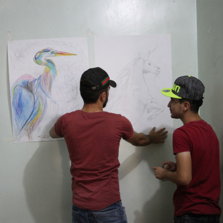 Youth Iraq - Art Project for Peace