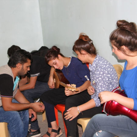 Youth Iraq - make music together