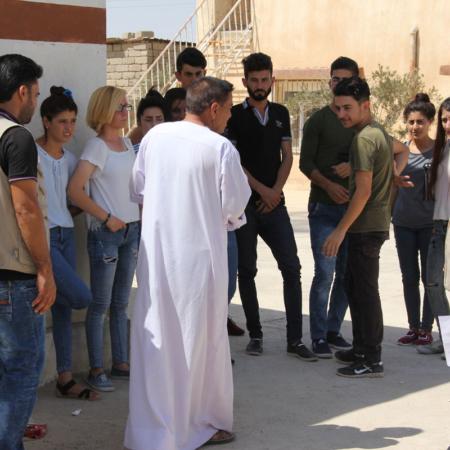 Youth Iraq - peacebuilding