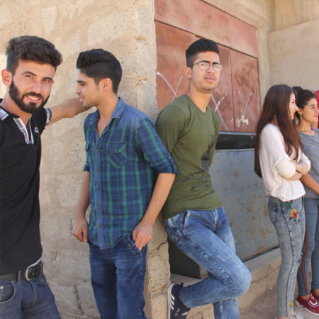 Youth Iraq - strong together