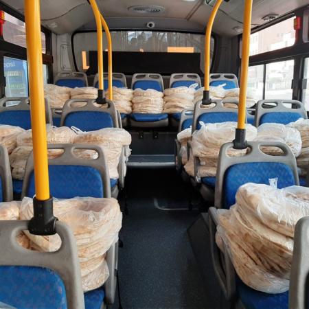 Corona Relief Jordan - Bus with food