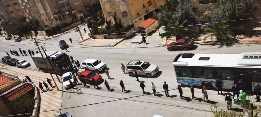Corona Reliefs Jordan - People in the Corona Crisis
