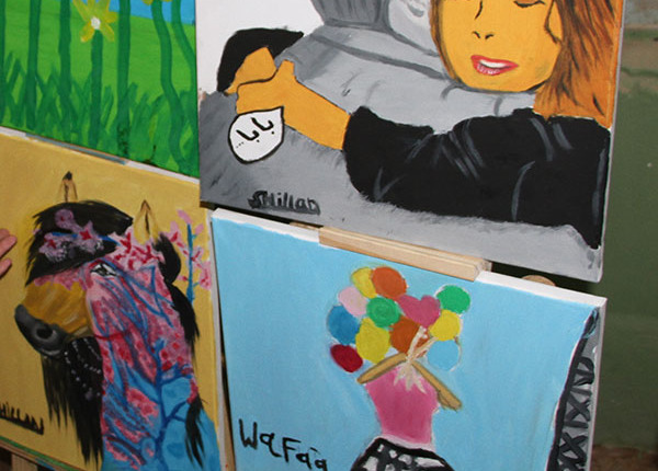 Peace projects in iraq - art pictures
