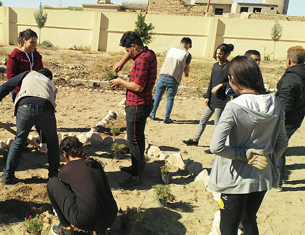Peace projects in iraq - together we are strong