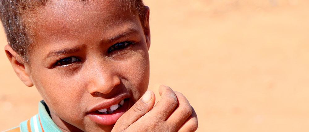 East Africa Drought - Children needs support