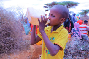 East Africa Drought - Water is nessary