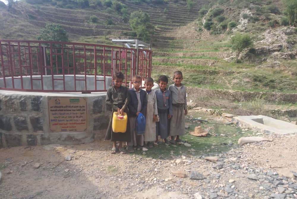 Help for Yemen - Cisterns are important