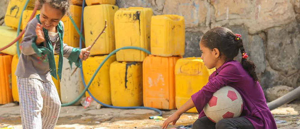 Help for Yemen - water is a humantarian right