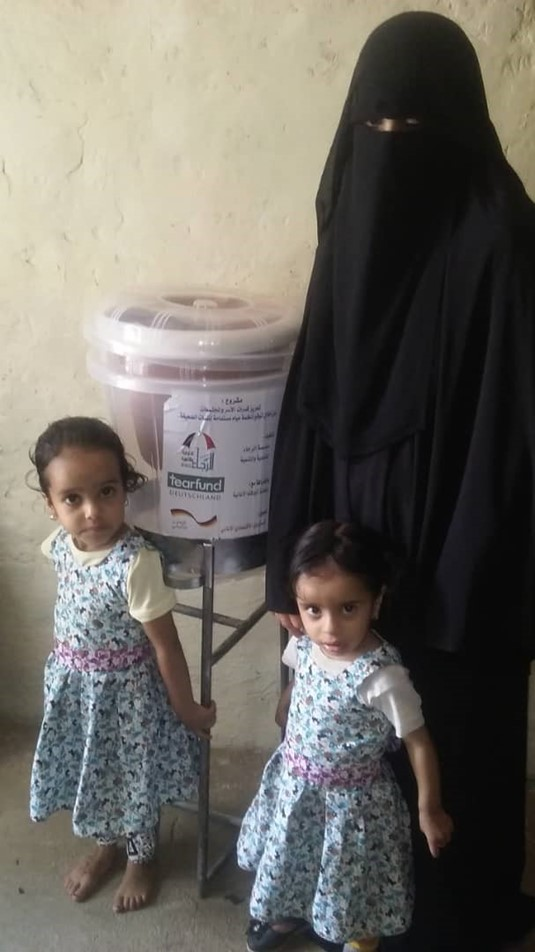 Help for Yemen - water filter for families