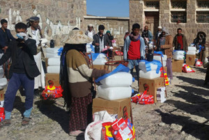 Help for Yemen - support with water and food