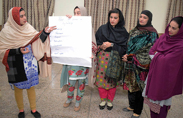 Peace and Interfaith Harmony in Pakistan - We make women strong