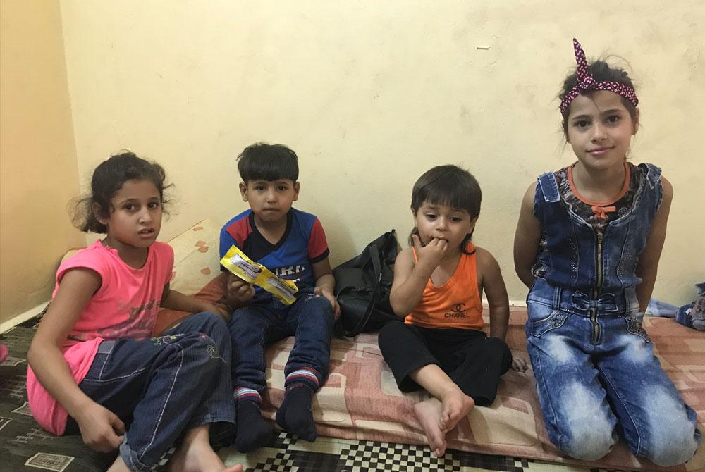 Reconstruction Syria - children of nabila