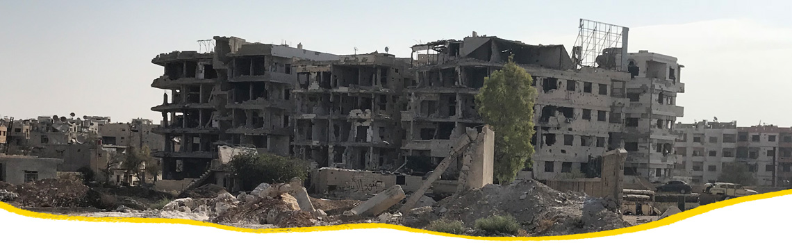 Reconstruction in Syria