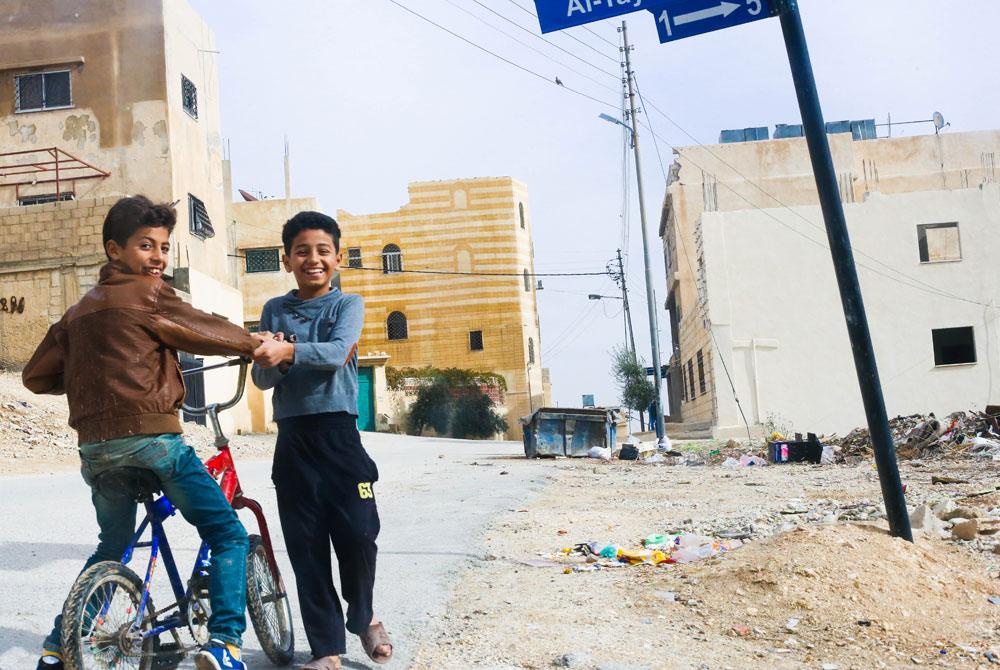Refugees in Jordan - Boys in Amman