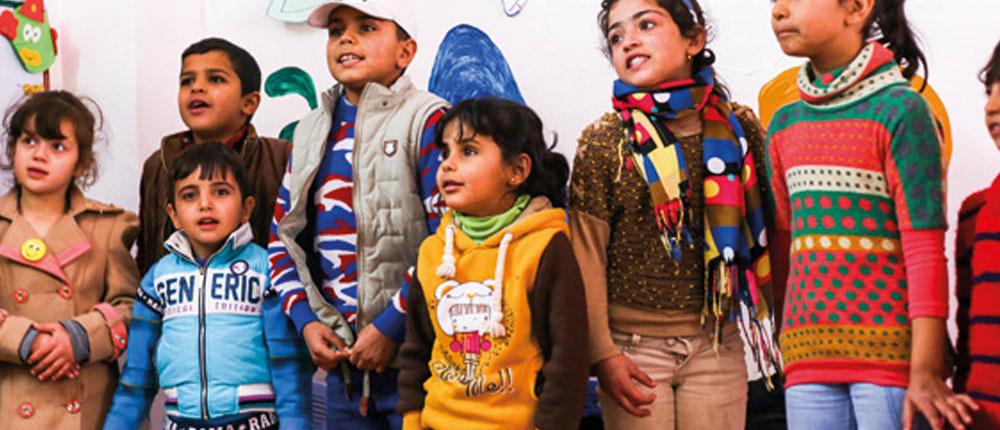 Refugees in Jordan - work with children