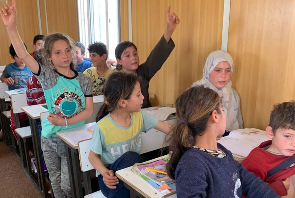 Refugees in Jordan - Literacy Course with children