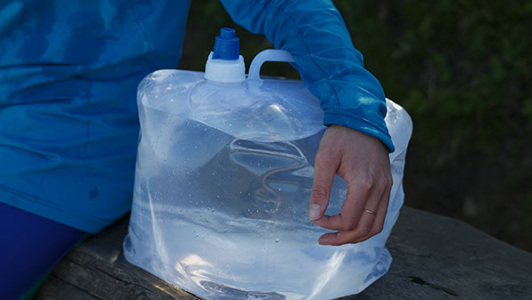 Walking for water- Water is a humantarian need