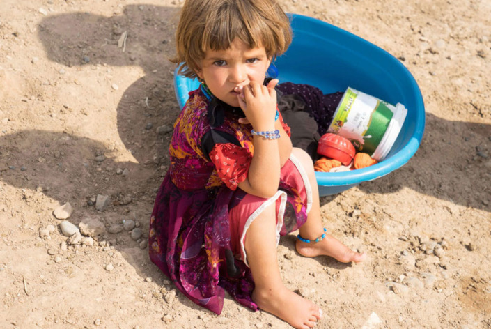 Hope for Syria - Children live in poverty