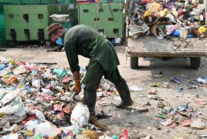 Peace in Pakistan - Garbage disposal